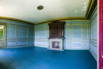 Habitación azul: vista