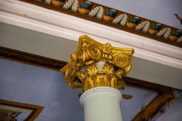 Habitación de la Condesa: columna